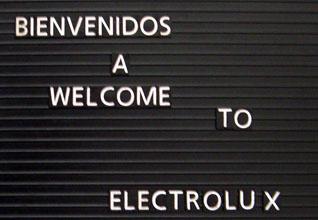 Hit men inte längre. Fotografering var strängt förbjudet inne i Electrolux fabrik i Juárez i Mexiko.